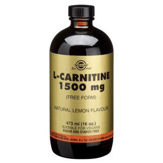 L-Carnitina Líquida Solgar - 473 ml.