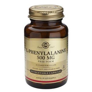 L-Fenilalanina Solgar - 50 cápsulas