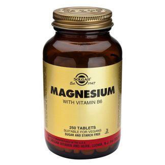 Magnesio con Vitamina B6 Solgar - 250 comprimidos