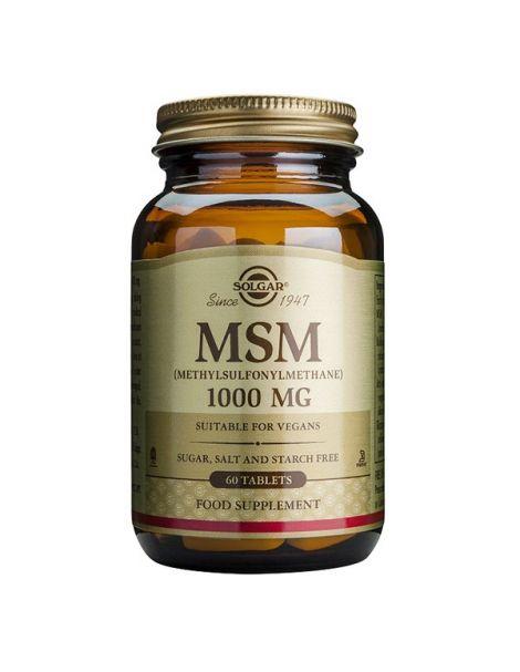 MSM Solgar - 60 comprimidos