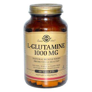 L-Glutamina 1000 mg. Solgar - 60 comprimidos