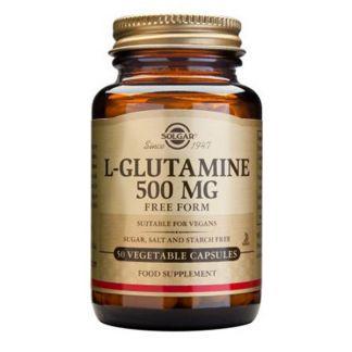 L-Glutamina 500 mg. Solgar - 50 cápsulas