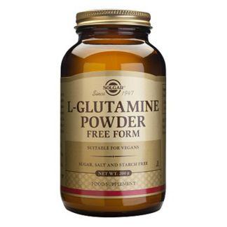 L-Glutamina en Polvo Solgar - 200 gramos