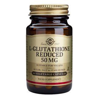L-Glutation 50 mg. Solgar - 30 cápsulas