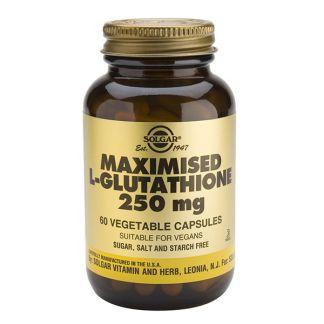 L-Glutation Maximizado 250 mg. Solgar - 60 cápsulas