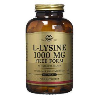 L-Lisina 1000 mg. Solgar - 250 comprimidos