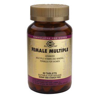 Female Múltiple (Mujer) Solgar - 120 comprimidos