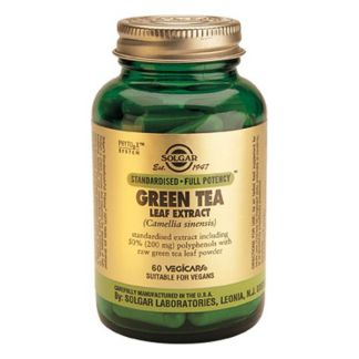 Té Verde Extracto de Hoja Solgar - 60 cápsulas