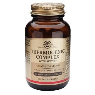 Thermogenic Complex Solgar - 60 cápsulas