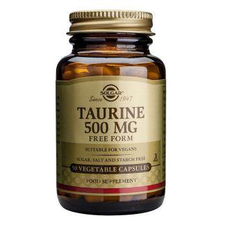 Taurina Solgar - 50 cápsulas