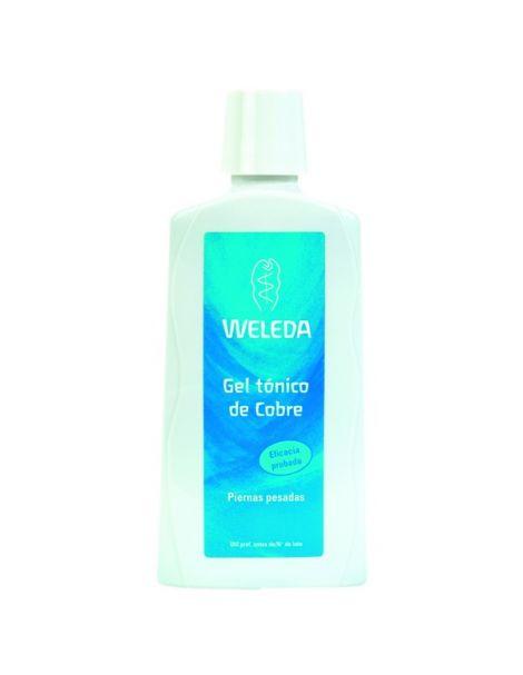Gel Tónico de Cobre Weleda - 200 ml.