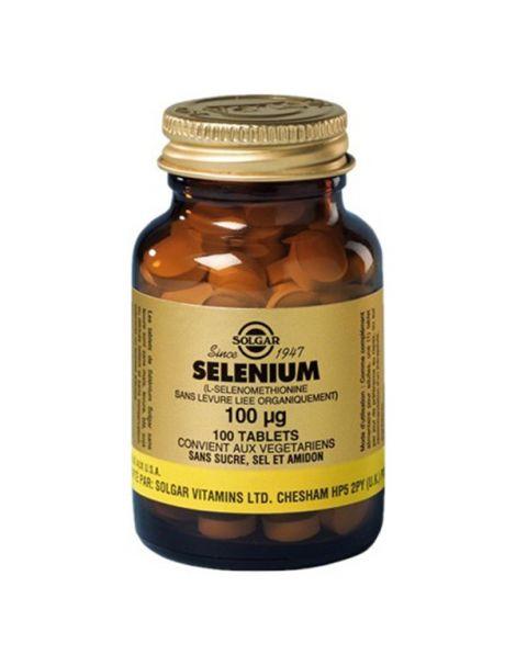 Selenio 100 mcg. Solgar - 100 comprimidos