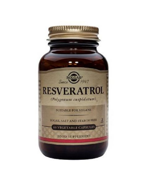 Resveratrol Solgar - 60 cápsulas