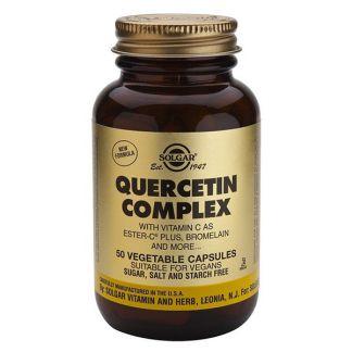 Quercitina Complex Solgar - 50 cápsulas