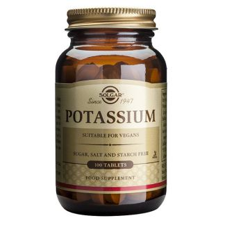 Potasio (Gluconato) Solgar - 100 comprimidos