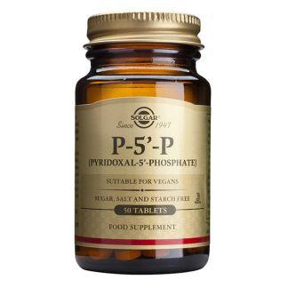 P-5'-P (Piridoxal-5'-Fosfato) Solgar - 50 comprimidos