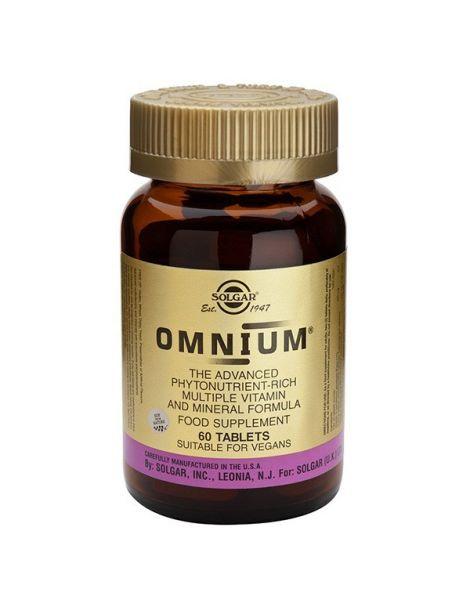 Omnium Solgar - 180 comprimidos
