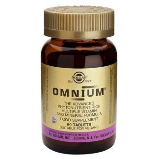 Omnium Solgar - 30 comprimidos