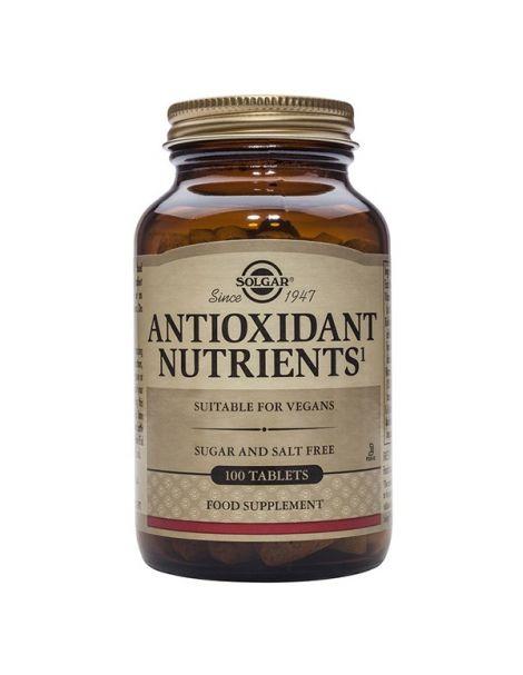 Nutrientes Antioxidantes Solgar - 100 comprimidos