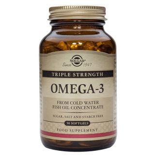 Omega 3 Triple Concentración Solgar - 50 perlas