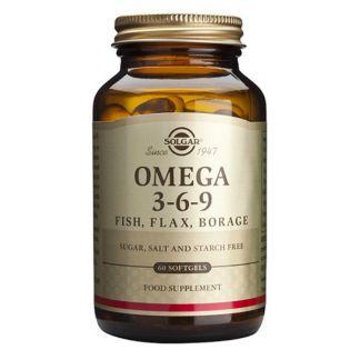 Omega 3-6-9 Solgar - 120 perlas