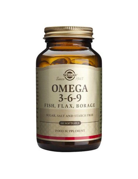 Omega 3-6-9 Solgar - 60 perlas
