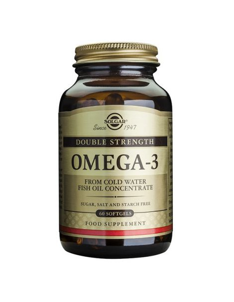 Omega 3 Alta Concentración Solgar - 30 perlas