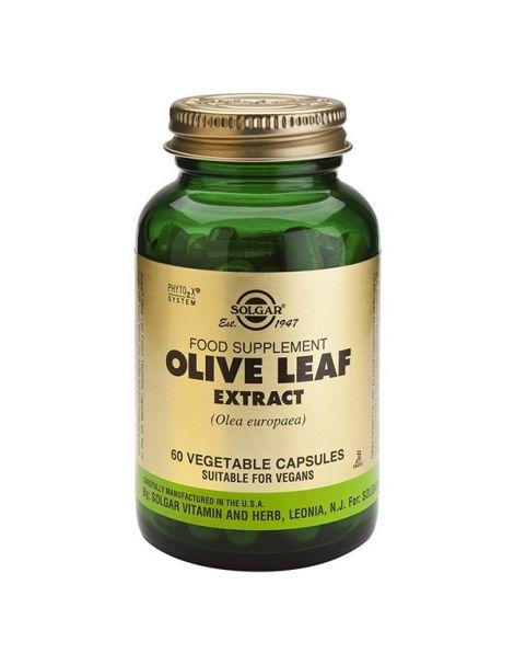 Olivo Extracto de Hoja Solgar - 60 cápsulas