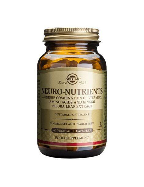 Neuro Nutrientes Solgar - 60 cápsulas