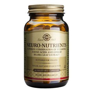 Neuro Nutrientes Solgar - 30 cápsulas