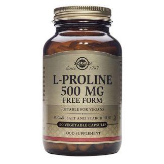 L-Prolina 500 mg. Solgar - 100 cápsulas