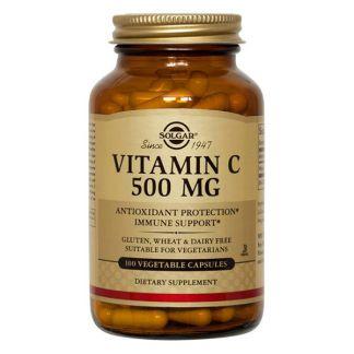Vitamina C 500 mg. Solgar - 100 cápsulas