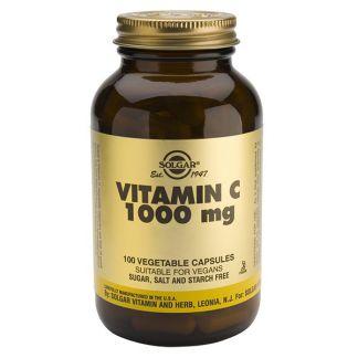 Vitamina C 1000 mg. Solgar - 100 cápsulas