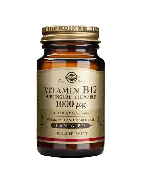 Vitamina B12 1000 mcg. Solgar - 250 comprimidos