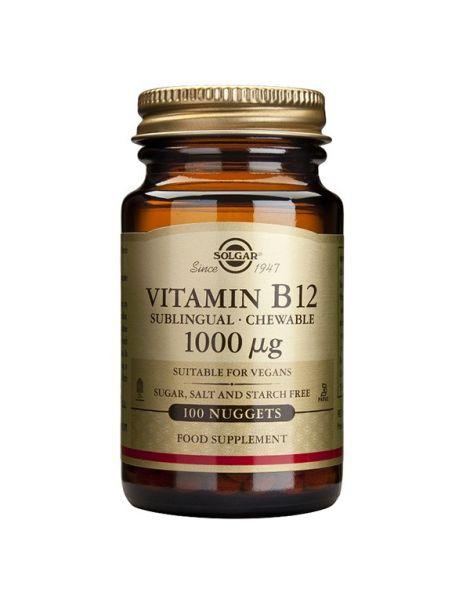 Vitamina B12 1000 mcg. Solgar - 100 comprimidos