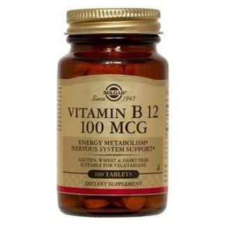 Vitamina B12 100 mcg. Solgar - 100 comprimidos