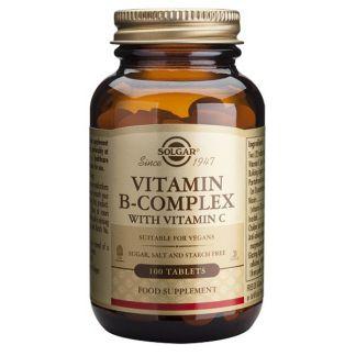Vitamina B-Complex con Vitamina C Solgar - 250 comprimidos
