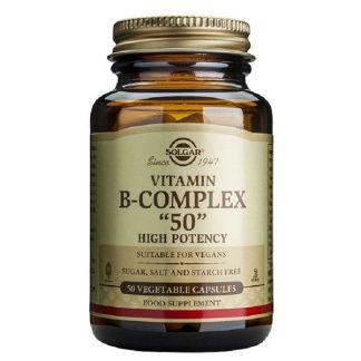 Vitamina B-Complex Solgar - 100 cápsulas