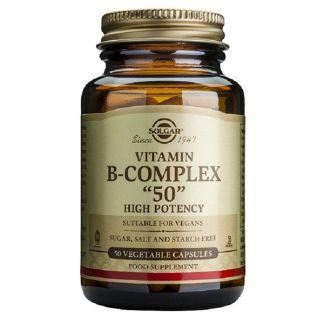 Vitamina B-Complex Solgar - 50 cápsulas