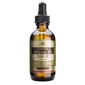 Vitamina D3 Líquida Solgar - 60 ml.