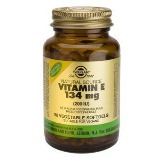 Vitamina E 134 mg. (200 UI) Solgar - 100 perlas vegetales