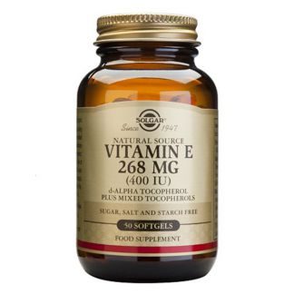 Vitamina E 268 mg. (400 UI) Solgar - 250 perlas
