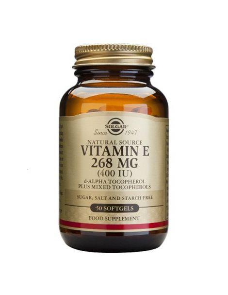Vitamina E 268 mg. (400 UI) Solgar - 100 perlas