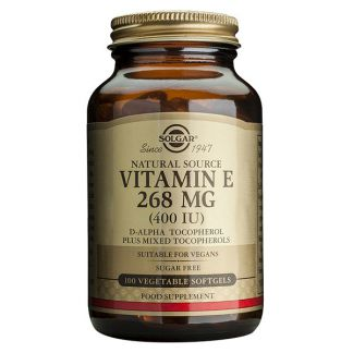 Vitamina E 268 mg. (400 UI) Solgar - 50 perlas vegetales