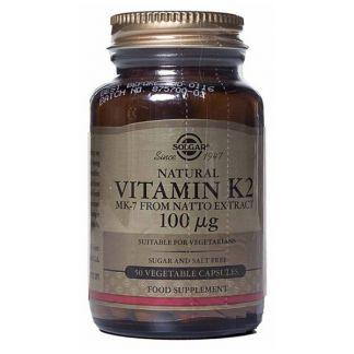 Vitamina K1 100 mcg. Solgar - 100 comprimidos
