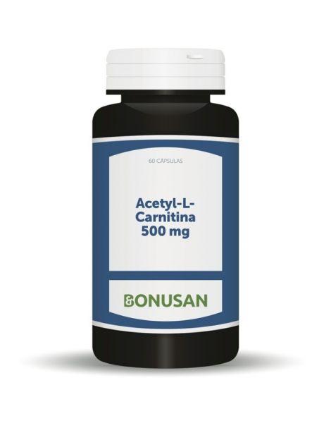 Acetyl-L-Carnitina 500 mg. Bonusan - 60 cápsulas