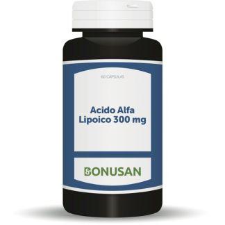 Acido Alfa Lipoico 300 mg. Bonusan - 60 cápsulas