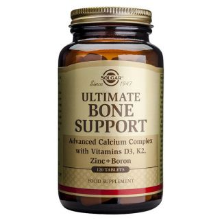 Ultimate Bone Support Solgar - 120 comprimidos