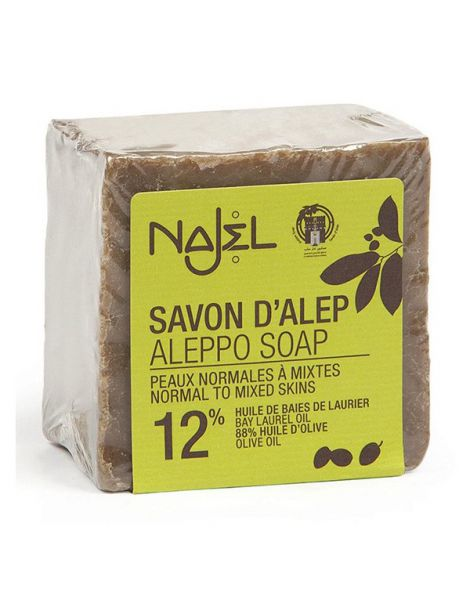 Jabón de Alepo 12% Najel - 200 gramos