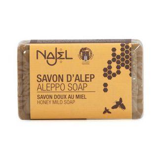 Jabón de Alepo con Miel Najel - pastilla de 100 gramos